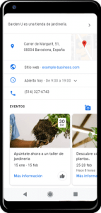 ficha google my business 2